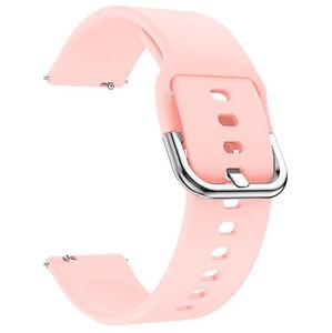 4wrist Silikonový řemínek - Růžový 22 mm