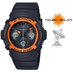 Casio G-Shock AWG-M100SF-1H4ER Fire Package (445)