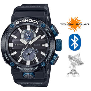 Casio G-Shock GWR-B1000-1A1ER Gravitymaster Bluetooth Solar Carbon Core Guard