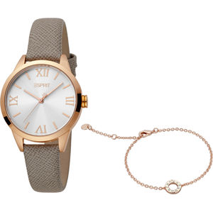 Esprit Pointy Grey Rosegold Set ES1L259L0045