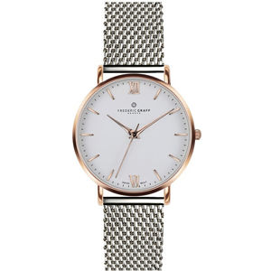 Frederic Graff Rose Dent Blanche Silver Mesh FAG-3520