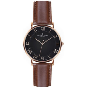 Frederic Graff Rose Dom Cognac Brown Leather FAE-B006R