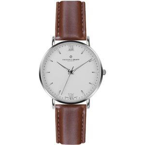 Frederic Graff Silver Dent Blanche Cognac Leather FAH-B006S