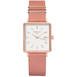 Rosefield The Boxy White Old Pink Rose Gold QOPRG-Q026