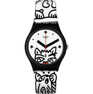 Swatch Comicat GB322